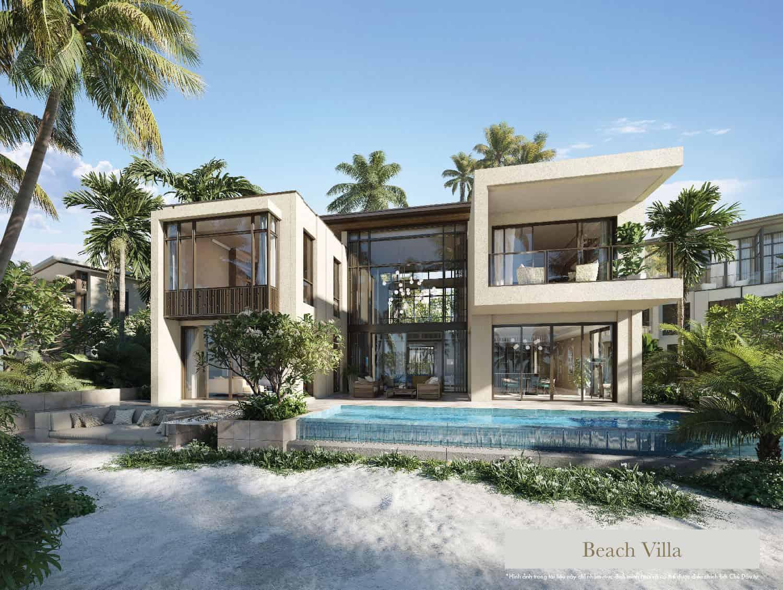 beach villa intercontinental residences halong bay