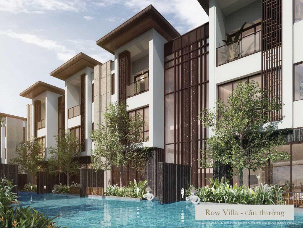 row villa intercontinental residences halong bay