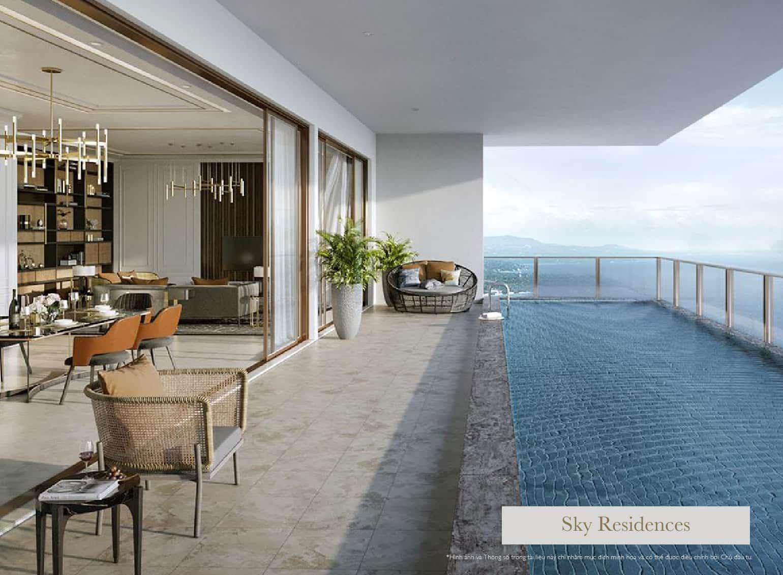 sky villa intercontinental residences halong bay